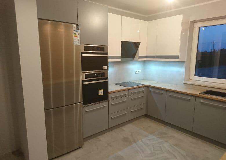 Kuchnie lakierowane